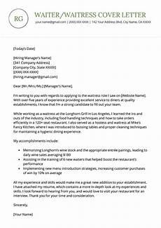 Cv For A Waitress Waiter Waitress Resume And Cover Letter Examples Wikitopx