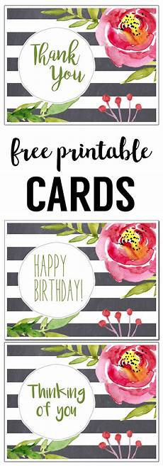 Printable Cards Online Free Printable Greeting Cards Thank You Thinking Of You