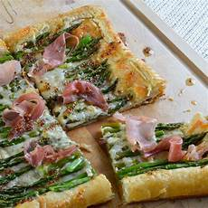 asparagus and prosciutto puff pastry wonkywonderful