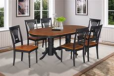 42 quot x78 quot oval dinette dining room table set with wood seat