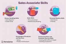 Skills Of A Sales Associate Important Sales Associate Skills List For Resumes