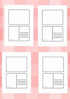 post card template twinkl twinkl resources gt gt blank postcard templates gt gt printable