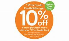 Reward Chart Toys R Us Toys R Us Increases Credit Card Rewards To 10 Personal