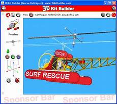 3d Kit Builder Rescue Helicopter Screenshots Free