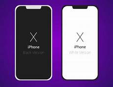 Iphone X Wallpaper Vector by Free Flat Light Iphone X Vector Template Titanui
