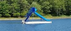 Floating Slide Floating Swim Dock Platform Plans For Lakes Aluminum