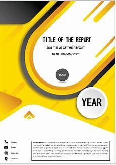 Cover Page For Assignment Free Download Energetic Yellow Cover Cover Pages Cover Page Template
