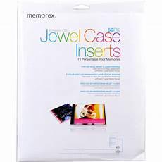 Memorex Case Insert Template Memorex Cd Case Inserts 50 Pack 00700 B Amp H Photo Video