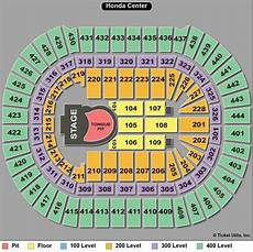 Honda Center Seating Chart Rolling Stones Seating Chart Guide For 50 And Counting