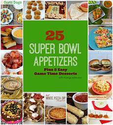 25 bowl appetizers 3 easy time desserts