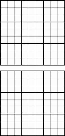 Sudoku Printable Grids Download Sudoku Blank For Free Formtemplate