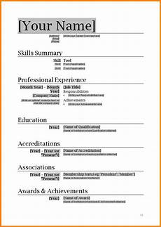 Resumes Download Ms Word Format Simple Resume Format Download In Ms Word Mt Home Arts