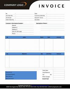 Office Invoice Template Free Free Invoice Template Sample Invoice Format Printable