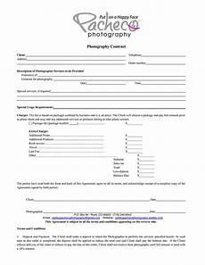 Contract For Photography Services Template What Your Photography Contract Must Have Plus Good