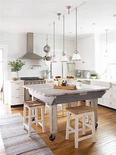 kitchen island farm table the country farm home farmhouse kitchen color trends for 2016