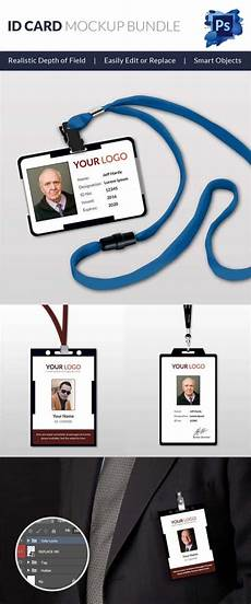 id card template eps 30 blank id card templates free word psd eps formats