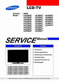 Samsung Chassis N68a Le32 37 40 46 52b750 B550 B570 B620