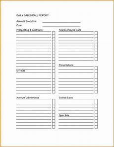 Sales Call Reports Templates Free Sales Call Sheet Template Sales Call Report Sheet Forms