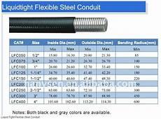 Flexible Conduit Size Chart Pe Polyethylene Corrugated Tube Flexible Electrical