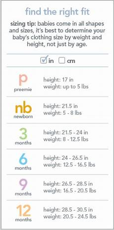 Carters Shoe Chart Carter S Size Chart Kid Clothes Sizes Pinterest Charts