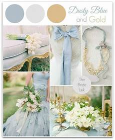 dusty blue and gold wedding inspiration wedding color