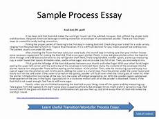 Process Essay Outline Sample Process Essay On Kool Aid