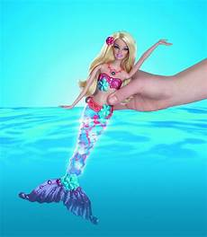 Barbie Sparkle Lights Mermaid Barbie Sparkling Lights Mermaid Thekidzone