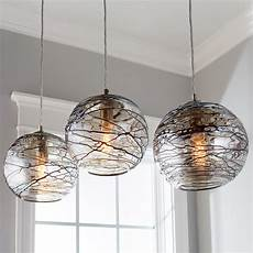 Pendant Light Swirling Glass Globe Pendant Light Shades Of Light