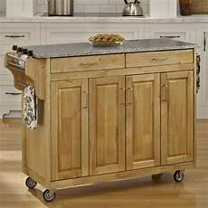 kitchen islands with granite tops home styles create a cart kitchen island with granite top