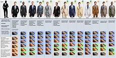 Suit Color Matching Chart A Visual Guide To Matching Suits And Dress Shoes