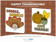 how to make a thanksgiving cards free thanksgiving cards from company kids