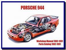 Porsche 944 1982 1991 Service Manual Wiring Diagram