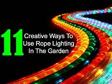 Christmas Rope Light Design Ideas 11 Creative Ways To Use Rope Lighting In The Garden