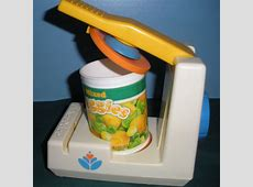 FP FF #2112 Pop Top Can Opener (F)   Vintage Fisher Price