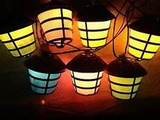 Retro Camper Party Lights Vintage Retro Mold Tiki Rv Camper Patio Party Lantern