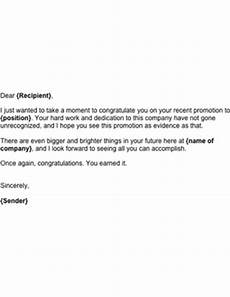 Congratulations Email Template Congratulations On Promotion Template