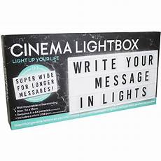 Led Cinema Light Box Long Led Cinema Light Box Home Gifts At The Works