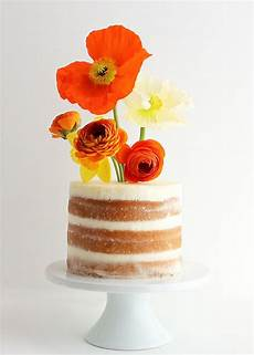 diy flower vase cake modern wedding cakes toppers
