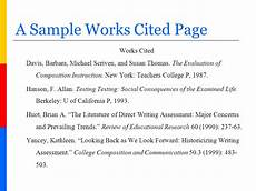 How To Do Mla Works Cited Annotated Mla Bibliography Doctoral Dissertation