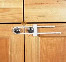 clippasafe sliding cabinet cupboard lock baby child