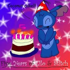 happy birthday stitch by baudelairestitch on deviantart