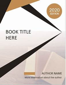 Editable Cover Page 5 Best Editable Book Title Page Templates Ms Word Cover