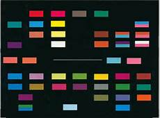 Sound Color Chart Sound Color Charts