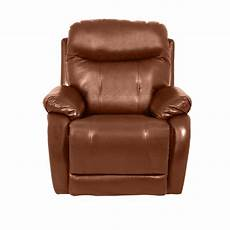 Light Brown Leather Sofa Png Image by Leather Recliner Sofa 1 Seater Eros Brown Price 230 08