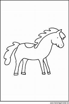pferd malen kinder ausmalbilder und vorlagen