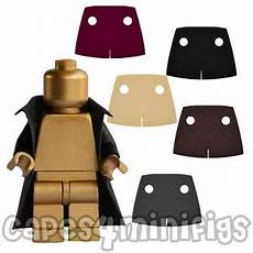 3 custom polycotton trench coat capes for your lego