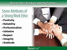 Strong Work Ethics How To Turn Slackers Into Performers It Management