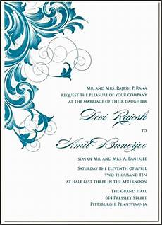 6 contoh undangan formal invitation sletemplatess
