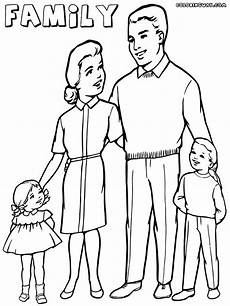 family coloring pages coloring pages to and print