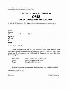 contoh surat permohonan sebagai juri